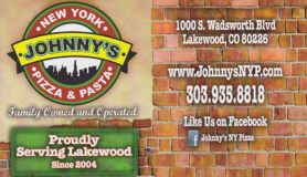 johnny's pizza & pasta