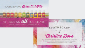 young living essential oils 1 & 2