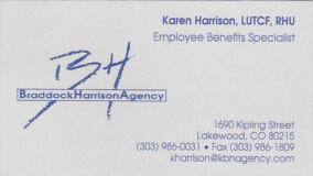 braddock harrison agency