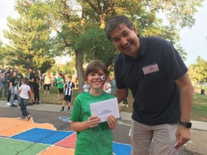 Drawing Winner, Southern Gables NNeighborhood Night Out